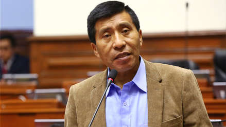 Moisés Mamani: Poder Judicial presentó pedido ante el Congreso para levantarle inmunidad parlamentaria
