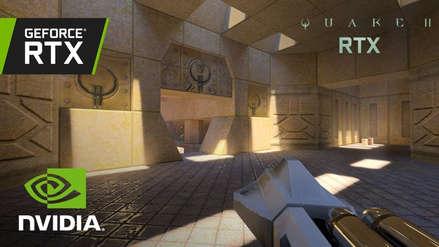 Quake II regresa ¡y con Ray Tracing! Legendario shooter recibe iluminación hiper realista gracias a NVIDIA [VIDEO]