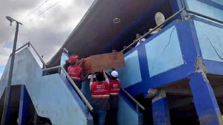 Minedu suspendió clases en 511 colegios para evaluar daños tras el sismo en Loreto