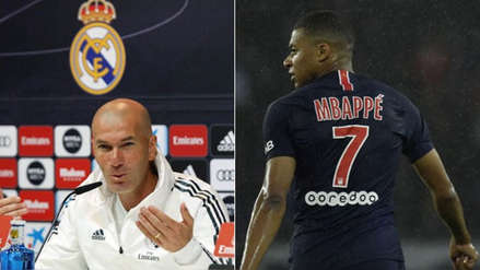 Real Madrid: así reaccionó Zinedine Zidane tras las declaraciones de Kylian Mbappé