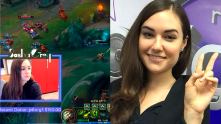 Sasha Grey y League of Legends: Ex actriz de cine para adultos es ahora streamer de videojuegos