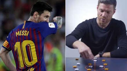 Real Madrid: Xabi Alonso reveló cómo aprendieron a marcar a Lionel Messi