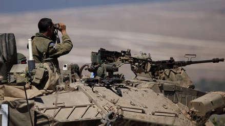 Israel dispara misil contra Siria y deja un soldado muerto
