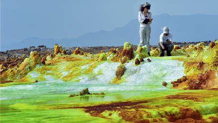 Científicos hallan microorganismos que sobreviven en la región más extrema y calurosa del planeta