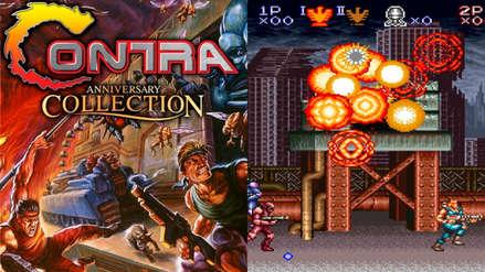 ¡Contra está de vuelta! El clásico videojuego de disparos regresa con colección de aniversario