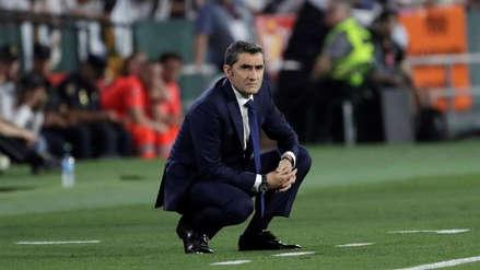 ¿Se queda? El Barza aseguró que aún no toma una decisión sobre el futuro de Valverde