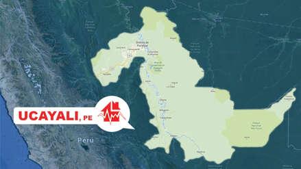 Un sismo de magnitud 4.9 remeció Pucallpa