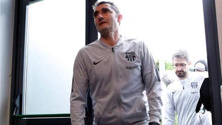 Ernesto Valverde ya fue comunicado que no continuará en el Barcelona, según 'El Chiringuito'