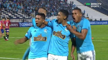 Sporting Cristal vs. Unión Española: Cristian Palacios abrió el marcador en Matute por la Copa Sudamericana