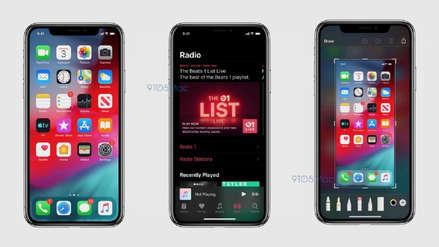 La manzana negra: así será el modo oscuro de iOS 13 que llega a Apple