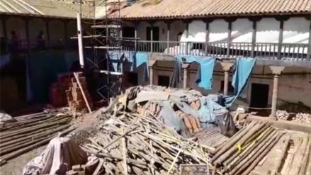 Encuentran vestigios inca durante trabajos de mantenimiento en la Casa de La Cultura en Cusco