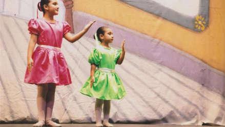 Keith y Nicole, las pequeñas bailarinas de ballet peruanas a las que ayudará el Ballet de Rusia