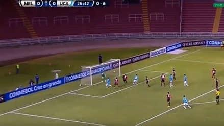 ¡Paró el cabezazo! La atajada de Carlos Cáceda que evitó el primer gol de Universidad Católica