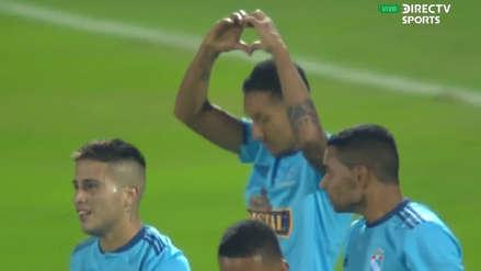 El gol de penal convertido por Christofer Gonzales que selló el 3-0 a favor de Sporting Cristal