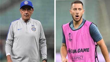 La polémica declaración de Maurizio Sarri sobre Eden Hazard:
