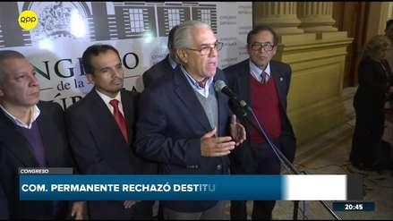 Gino Costa y Oracio Pacori piden que Martín Vizcarra presente una cuestión de confianza