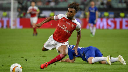 Chelsea vs. Arsenal: el golazo de volea de Alex Iwobi en la final de la Europa League