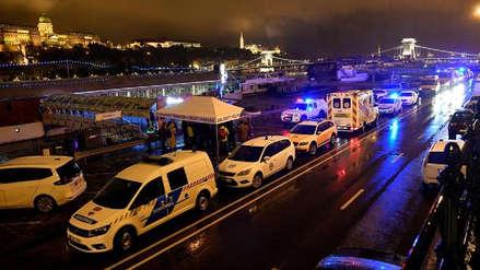 Al menos siete turistas muertos tras naufragio de embarcación en el río Danubio