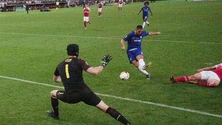 ¡En su despedida! Eden Hazard anotó golazo de zurda con Chelsea en la final de la Europa League