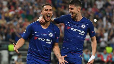 Se despidió a lo grande: con doblete de Hazard, Chelsea conquistó la Europa League