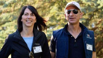 La exesposa de Jeff Bezos donará la mitad de su fortuna a la caridad