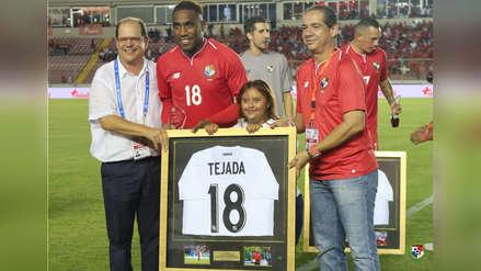Luis Tejada jugó su último partido con la Selección de Panamá