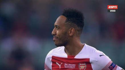 ¡Para qué te traje! El 'tiki-taka' del Arsenal que Aubameyang desperdició ante Chelsea