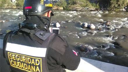 Rescatan el cadáver de un hombre de las aguas del río Chili en Arequipa [Video]