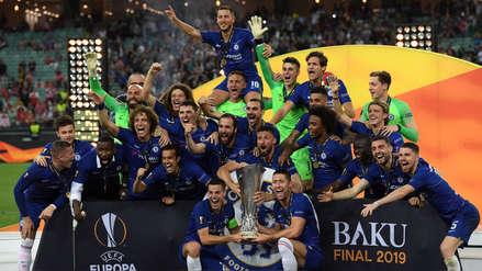 ¡Campeón! 20 fotos del festejo de Chelsea tras el título de la Europa League