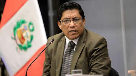 """Zeballos: """"Si se nos niega la confianza, el gabinete de Del Solar se va a su casa y se disuelve el Congreso"""