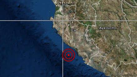 Dos sismos de regular magnitud remecieron la región Ica esta madrugada