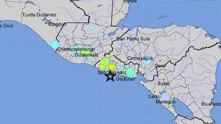 Fuerte sismo de magnitud 6.8 sacudió El Salvador y provocó alerta de tsunami