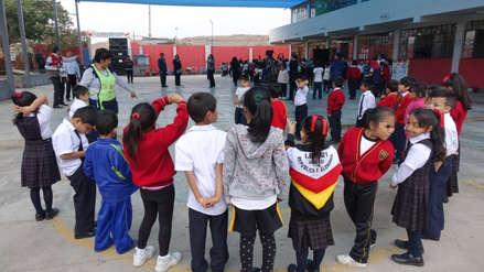 Minedu: Más de 8 millones de alumnos participarán en Simulacro Nacional de Sismo