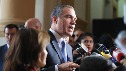"""Del Solar: """"Esta cuestión de confianza no es una respuesta a lo que ha pasado con el fiscal Chávarry"""""""