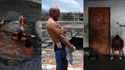El infierno a la espera de una casa: 15 fotos de la vida en los edificios invadidos en Venezuela