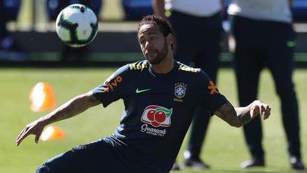 Neymar se reintegró a los entrenamientos de Brasil para la Copa América 2019
