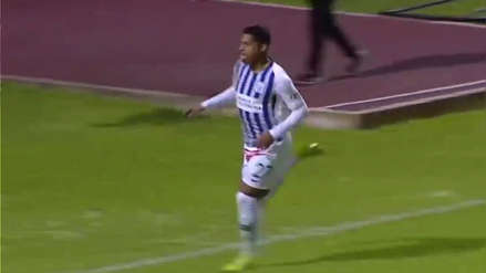 ¡Imparable! Kevin Quevedo marcó su doblete ante Sport Huancayo