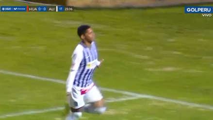¡Y se hizo la luz! Kevin Quevedo puso el 1-0 en favor de Alianza Lima ante Huancayo