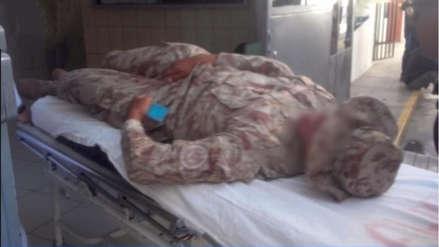 Soldados terminan en el hospital tras agresión sufrida en un cuartel de Arequipa