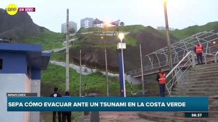 ¿Qué debes hacer si un sismo te sorprende en la Costa Verde?
