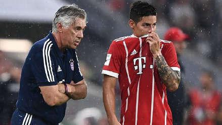 ¿Habrá reencuentro? Carlo Ancelotti se contactó con James Rodríguez para que se una al Nápoli