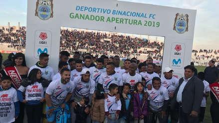 Binacional ganó 2-0 a Sport Boys y se coronó campeón del torneo Apertura por la Liga 1