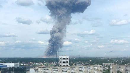 Fábrica militar en Rusia sufre cadena de explosiones: hay 38 heridos y dos desaparecidos