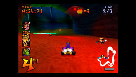 Crash Team Racing Nitro-Fueled presenta un mapa retro exclusivo para PlayStation 4