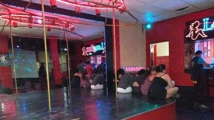 Chiclayo | Clausuran local con licencia de restaurant, sin cocina y un escenario de 'pole dance'
