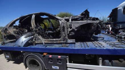 José Antonio Reyes: así quedó el auto en el que murió el exfutbolista | FOTOS