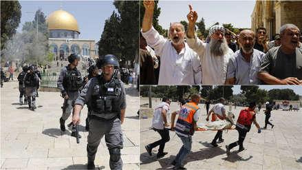 Israel | Enfrentamientos en Explanada de las mezquitas cuando se celebra la toma de Jerusalén [VIDEO]