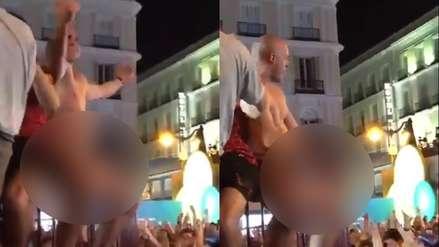 Un seguidor del Liverpool fue detenido tras masturbarse en público y abusar sexualmente de una mujer