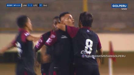 Universitario vs. UTC: el soberbio gol de Jean Deza para poner el empate ante los cremas