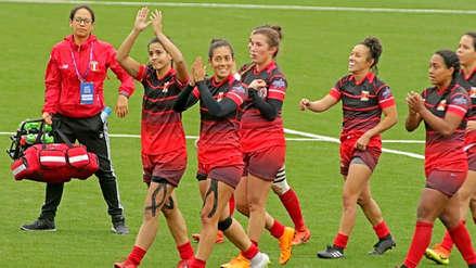 Perú aseguró su pase a la semifinal del Campeonato Sudamericano de Rugby Femenino
